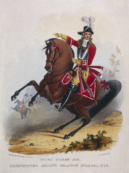 3rd Horse (became the 2nd Dragoon Guards in 1748)