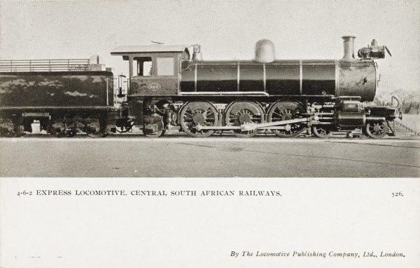 4-6-2 locomotive no 603 Date