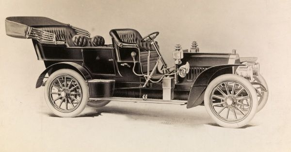 Automobile (Cars). Print of a 40 Locomobile Touring Car