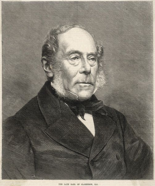 GEORGE WILLIAM FREDERICK VILLIERS, fourth earl of CLARENDON Statesman