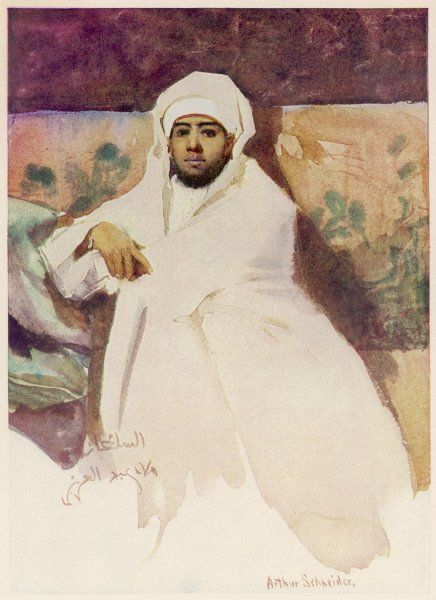 ABD AL'AZIZ or ABD AL'AZIZ IV Sultan of Morocco (1894-1908): modern ideas and friendliness to other nations made him unpopular in his own country