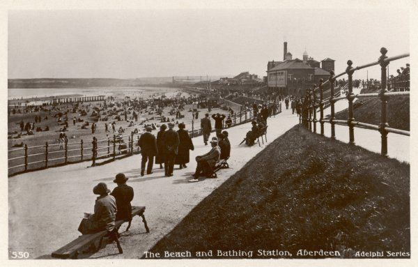 Aberdeen: beach and bathing station