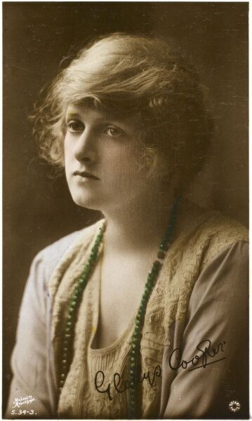 English actress of stage and screen, Gladys Cooper (1888-1971)