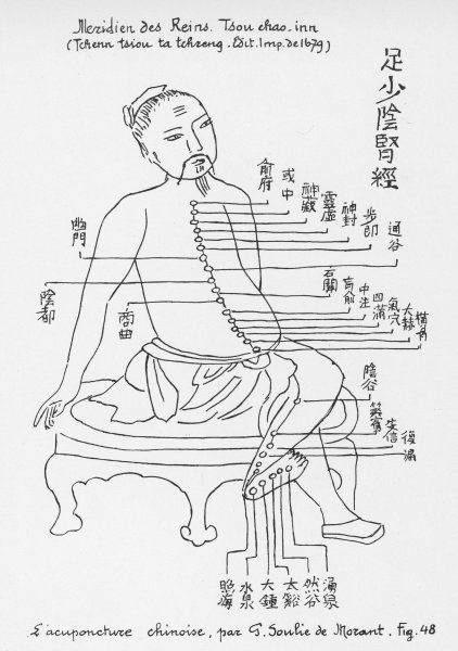 ACUPUNCTURE The Meridian of the Loins