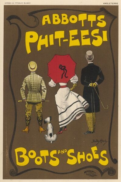 Poster for Abbotts Phit-Eesi boots and shoes