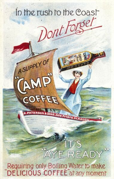 Camp Coffee - delicious coffee at any moment