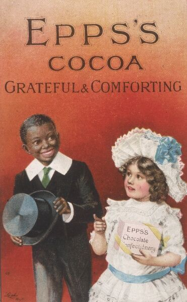 Epps's Cocoa and chocolates: Grateful and Comforting