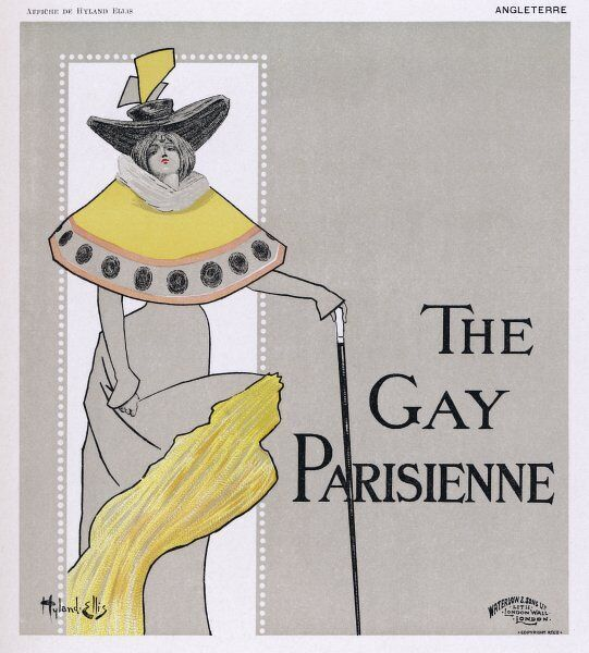 Poster for The Gay Parisienne