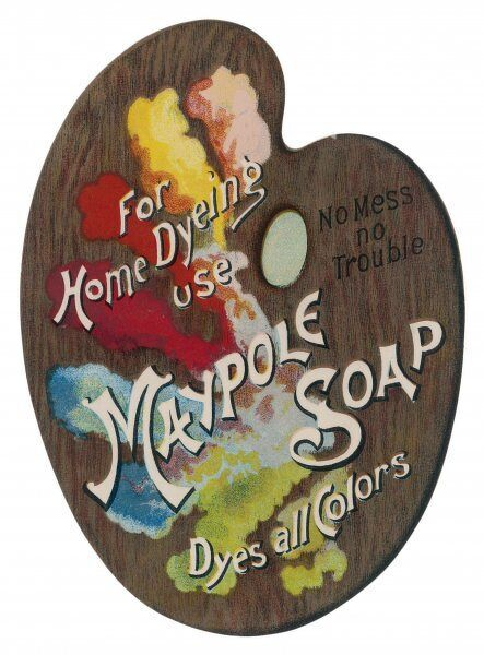Maypole Soap for home dyeing use