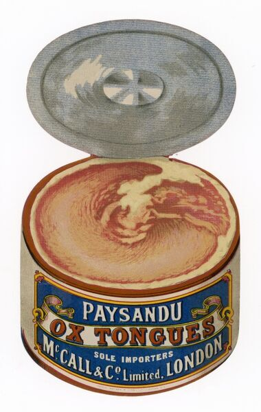 Paysandu Ox Tongue in a tin