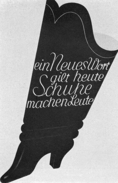 Ad for shoes Date: 1930