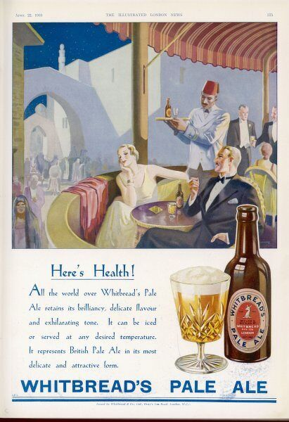 WHITBREAD'S PALE ALE all the world over