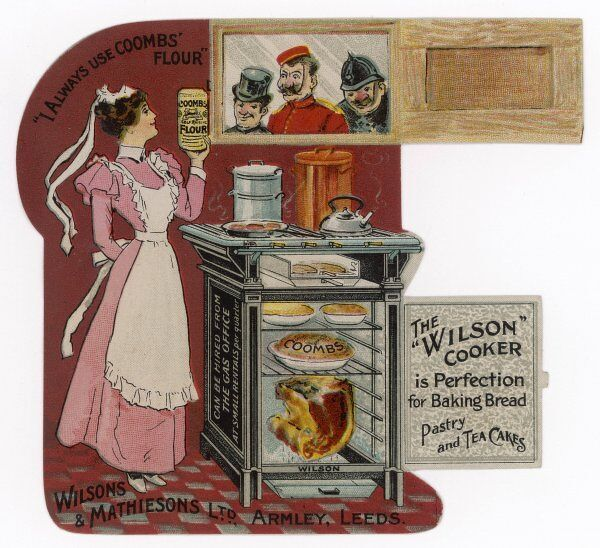 The Wilson Cooker - perfection for baking bread, pastry and teacakes