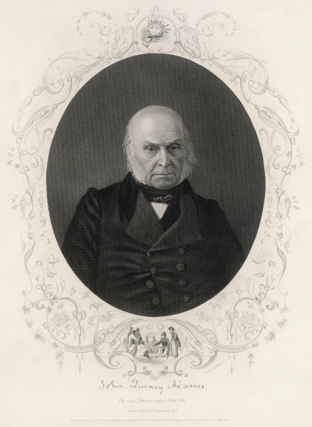 John Quincy Adams sixth president of the United States