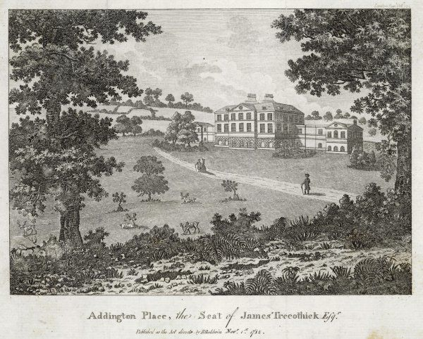 Addington Place, Kent, the seat of James Trecothick