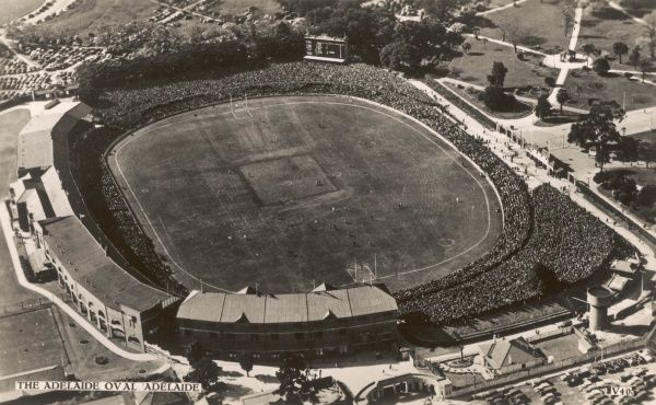 The Adelaide Oval, sports stadium, in Adelaide, South Australia
