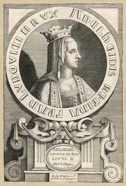 ADELHEIDE, QUEEN queen of Louis Le Begue, king of France