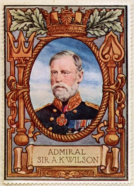 Admiral SIR ARTHUR KNYVET WILSON VC (1842 - 1921) English Admiral and briefly First Sea Lord who was awarded the Victoria Cross for gallantry during the war in Sudan