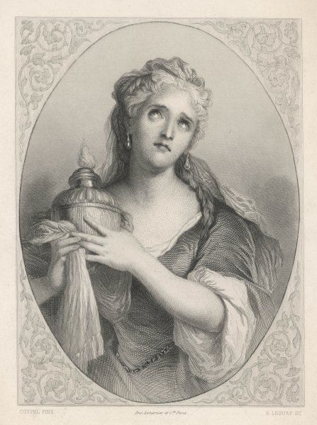 ADRIENNE LECOUVREUR French actress, popular in Moliere and Racine, died under suspicious circumstances, perhaps poisoned by a rival