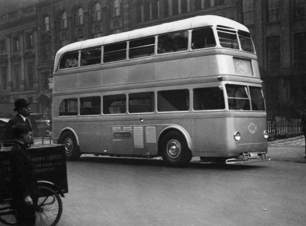A 'Modern' London Bus, an AEC double-decker 'front entrance' bus