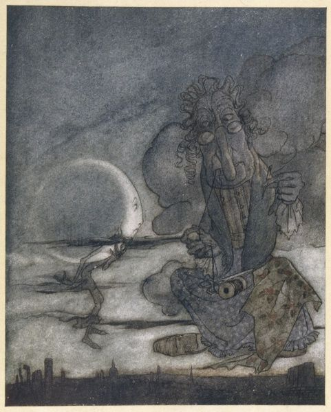 'THE MOON AND HER MOTHER&#39
