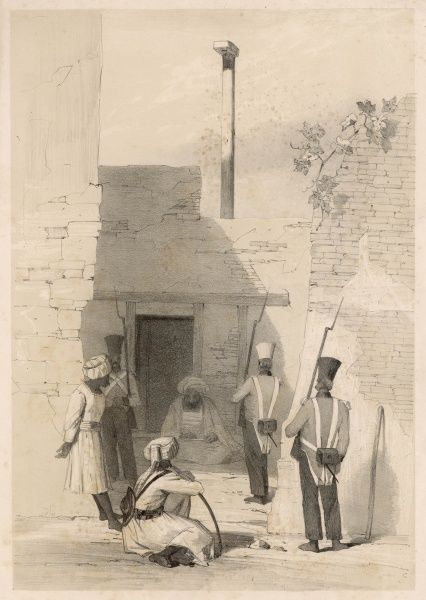 Hadji Khan Kakur, an Afghan intriguer and (from one viewpoint at least) traitor, is imprisoned by the British at Cabul