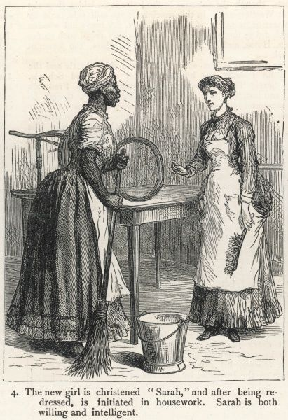 An Englishwoman in Cape Colony, South Africa, finds that the servant problem is even more acute here than home in England ! 4 of 15
