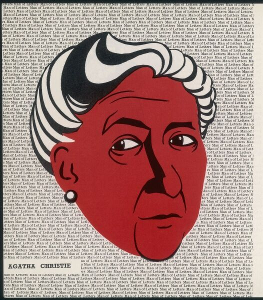 Crime author, Agatha Christie (1890-1976)
