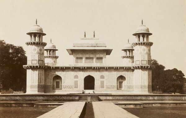 Agra, India - The 'Jewel Box' Tomb of Itmad-ud-Daulah built between 1622 - 1628
