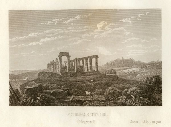 Agrigentum, Sicily, also known as Agrigento, Acragas or Akragas.. Date