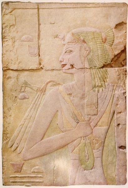AHMOSE Egyptian queen, wife of Thutmose I, mother of Queen Hatshepsut
