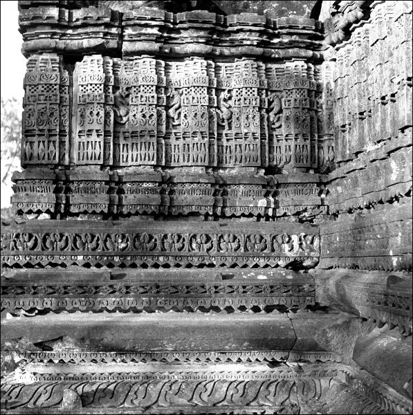 Ajaigarh Fort and Temple Ruins, Madhya Pradesh, Central India. Photograph by Ralph Ponsonby Watts