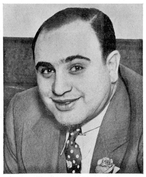 Alphonse 'Scarface' Capone, a prominent citizen of Chicago who unfortunately experienced trouble with the Internal Revenue service