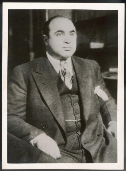 Alphonse 'Scarface' Capone, Chicago gangster