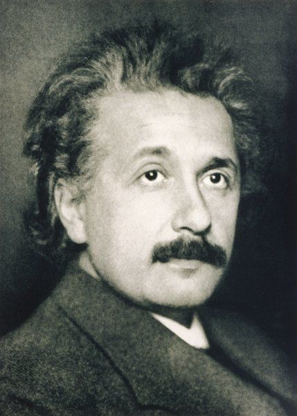 ALBERT EINSTEIN German physicist in 1921