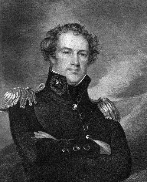 Major-general ALEXANDER MACOMB American military commander Date: 1782 - 1841