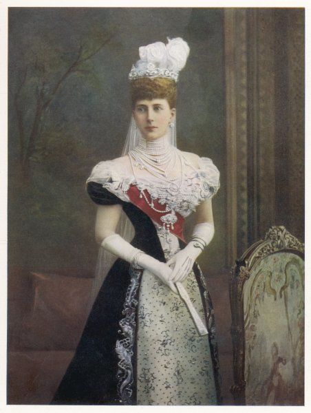 QUEEN ALEXANDRA Wife of Edward VII in 1901