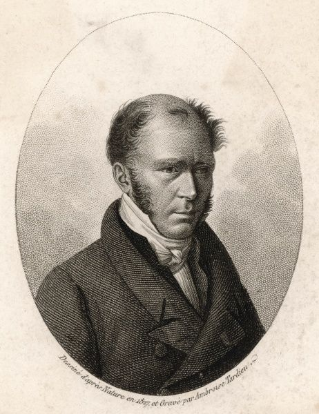 ALEXANDRE H G DE CASSINI French botanist, and member of the French Royal Academy of Science