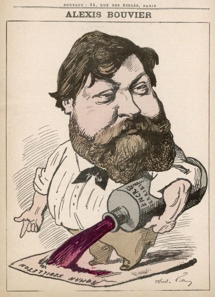 Alexis Bouvier (1836-1892) French novelist and playwright