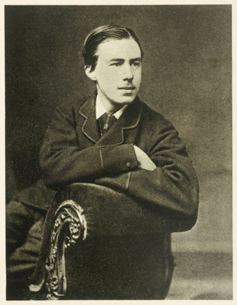 ALFRED EDWARD HOUSMAN English scholar and poet, when he was aged eighteen