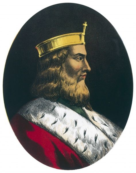 KING OF THE WEST SAXONS King Alfred
