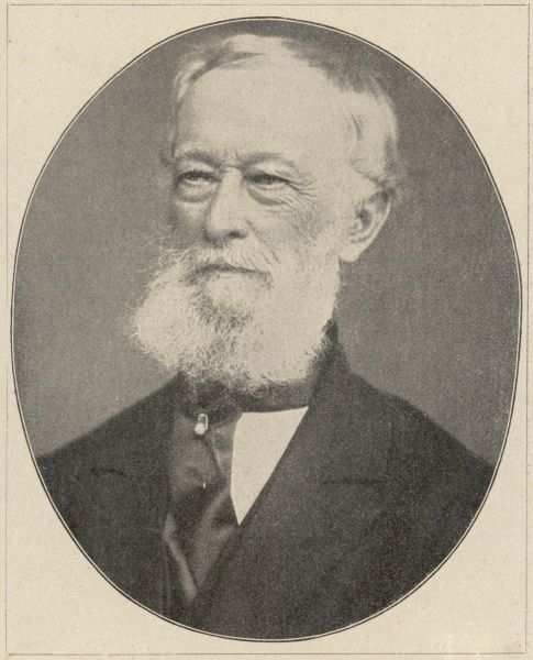 ALFRED KRUPP German industrialist in old age