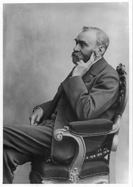 ALFRED NOBEL Swedish chemist, inventor of dynamite and prizegiver