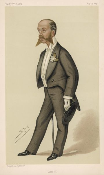 ALFRED ROTHSCHILD Member of the English branch of the international banking family, son of Lionel