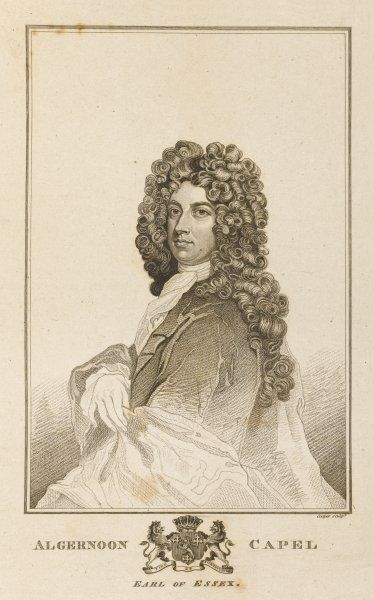 ALGERNON CAPEL, earl of ESSEX peer who doesn't seem to have done very much for good or ill