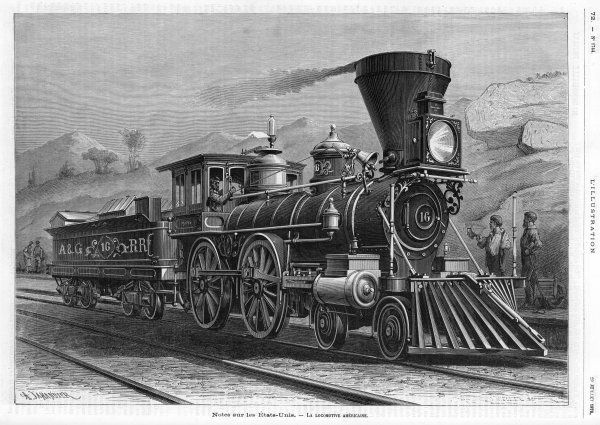 of the Alleghany Railroad