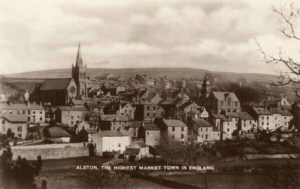 Alston, Cumbria - the highest market town in England Date: circa 1930s