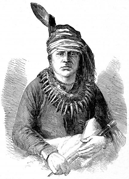 Portrait of the Pawnee Chief, Scalla-la-na-sharo, or Only Chief