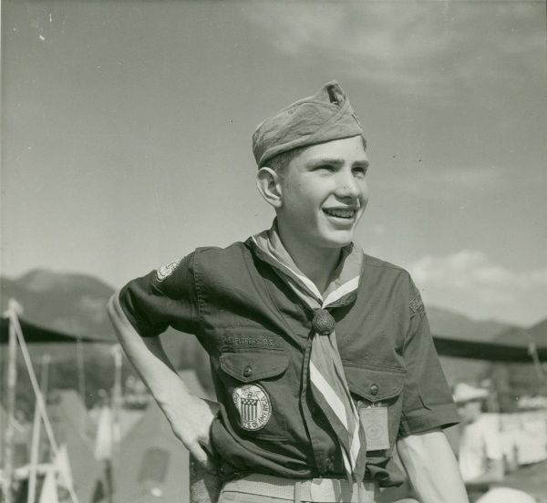 American Scout at a Jamboree, 1951 1951