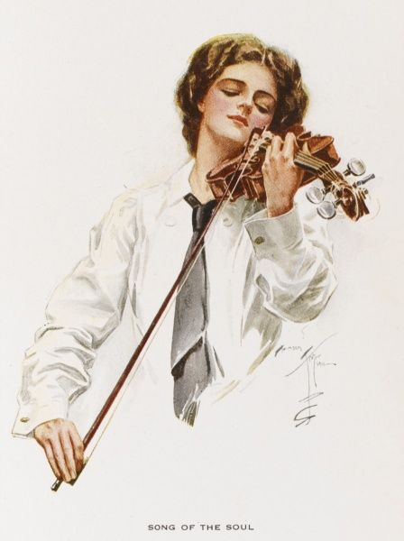 'Song of the Soul' - an American violinist performs with feeling